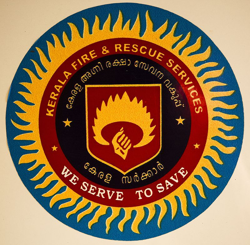Kerala fire and rescue services logo
